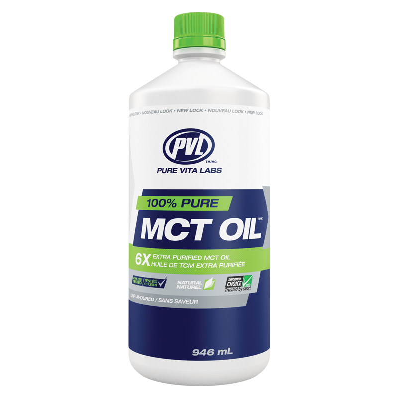 PVL 100% PURE MCT OIL 946 ml.