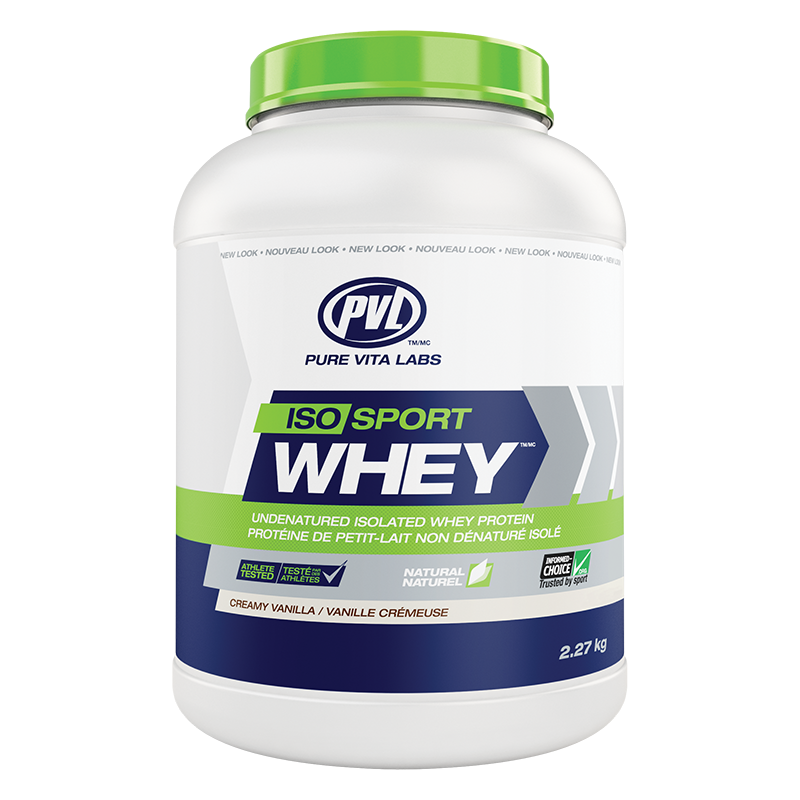 PVL Iso Sport Whey 2.27 kg./ 5 lbs